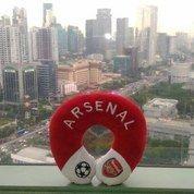 Bantal Leher Bantal Kepala Traveling Klub Bola Inggris Arsenal FC SNI (13277835) di Kota Jakarta Selatan