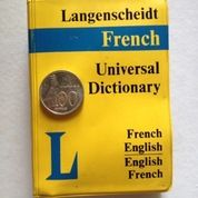 Kamus Mini French English Cetakan Tahun 1980 (13294269) di Kota Malang