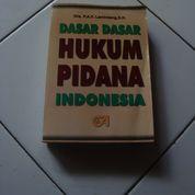 Dasar Dasar HUKUM PIDANA Indonesia Drs. Lamintang.S.H.