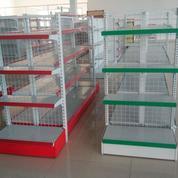 Rak Minimarket Kualitas No 1 Harga Terjangkau Kapasitas Bean 50kg/Level (13439969) di Kab. Tangerang
