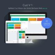 Software Aplikasi Cuci / Steam / Variasi Mobil Dan Motor (Original)