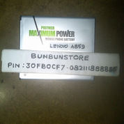 BATTERY BATRE BATERAI LENOVO A859 DOUBLE POWER 5500mah