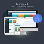 Software Aplikasi Laundry Berbasis Web Php (Source Code) Original
