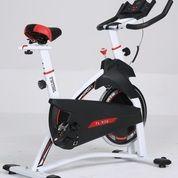 Spinning Bike Magnetic Sepeda Fitness Pembakar Kalori Alat Olahraga Di Rumah