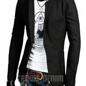Jas Blazer Black Casual Korean Style SK65