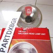 OBRAL HeadLamp Unit Toyota Corolla KE-30 Uk 7 Inch Bulat (13515427) di Kota Bogor
