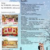 OVER DP Paket Gedung Pernikahan / Wedding Hall Di Duta Merlin