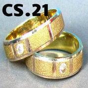 Cincin Perak Couple Custom CS.21
