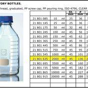 Schott Duran Bottles Laboratory Glass 2000ml (13584319) di Kota Jakarta Pusat