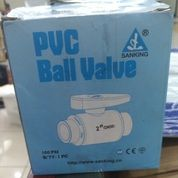 Ball Valve Pvc 2 Inch,Stop Kran Sanking Dn 50