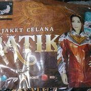 Jas Hujan Stelan Batik