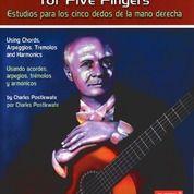 (NEW) Buku Gitar - Right Hand Studies For Five Fingers - Buku Musik
