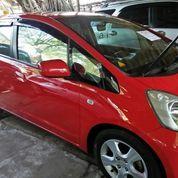 Mobil Honda Jaaz Merah 2008 Msih Mulus