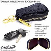 Gantungan Kunci Dompet Kunci Keyless R Croco Black (13687513) di Kota Jakarta Timur
