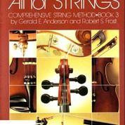 (NEW) Buku Violin -ALL FOR STRINGS- (Book 3) Biola - Musik
