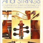 NEW) Buku Violin -All For Strings - (Book 1) Biola - Musik