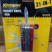 Pisau Lipat Pocket Knife Krisbow 21in1