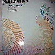 Suzuki Violin School Edisi Bahasa Indonesia + CD ( Volume 1 ,2,3 )