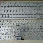 Keyboard SONY CA Series (PCG-61711W) - SILVER