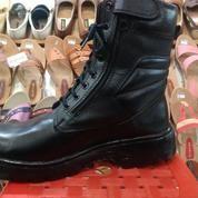 Sepatu Boots Safety - Sepatu PDH PDL Tni Polisi Polri Brimob Untuk Dinas Kerja - Sepatu Touring