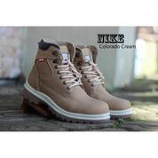 Sepatu Boots Safety Pria Kerja Kantor Touring Proyek Tracking - Sepatu Nike Murah
