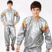 Sauna Suit Silver-Unistar (13777889) di Kota Bandar Lampung