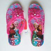 Sandal Anak Wanita Cewek Jepit Karet Frozen Pita Perempuan Cantik (13799477) di Kota Tangerang