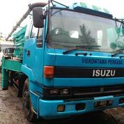 Truck Concrete Pump Isuzu Long Boom 2004 (13821419) di Kota Jakarta Timur