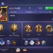 Akun Mobile Legend ,Tier Legend Level 30