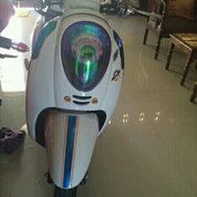 Honda Scoopy Thn 2016 White
