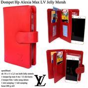 Dompet Hp Murah Alexia Max LV Jelly - Red (13854729) di Kota Jakarta Timur