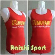 Kaos Singlet Cotton Berlogo MUTANT Warna Merah (13867609) di Kota Jakarta Barat