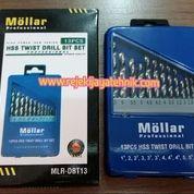 Mata Bor Besi Set Mollar 13pcs HSS Twist Drill Bit Set