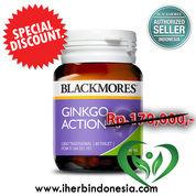 Blackmores Ginkgo Action Forte Tabs (40)
