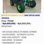 MOTOR ATV BRAVO 110 CC (13948565) di Kota Yogyakarta
