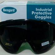 Kacamata Safety Goggle Besgard Kaca Hitam