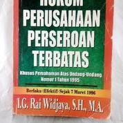 Buku Bekas Hukum Perusahaan Perseroan Terbatas (14026911) di Kota Medan