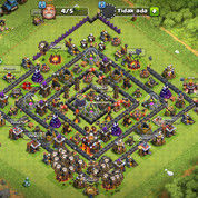 Akun Clash Of Clans Th 10