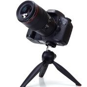 Yunteng YT-228 Portable Mini Tripod + Holder - BLACK