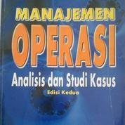 Buku Bekas Manajemen Operasi Analisis Dan Studi Kasus