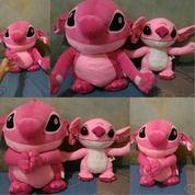 Boneka Tokoh Kartun Stitch Pink Film Lilo And Stitch Jumbo SNI Lucu (14060739) di Kota Jakarta Selatan