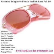 Kacamata Wanita Sunglasses Female Fashion Full Set Rose (14097127) di Kota Jakarta Timur