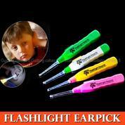 Korek Kuping LED Pembersih Telinga Lampu Flashlight Earpick