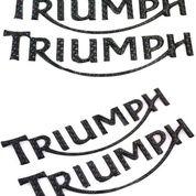 Emblem Motor Triumph Carbon 3D (14142769) di Kota Bogor