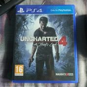 Kaset BD Game PS4 Uncharted 4 A Thief End Reg1 Mulus (14156481) di Kota Jakarta Pusat