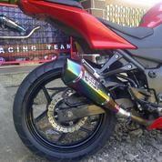 Knalpot Racing Ninja 250 Warior Suara Ngebas Bulat, Bandung (14158325) di Kota Bandung