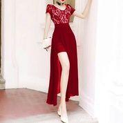 Mm#350648 Dress Princes Marun