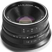 Lensa 7ARTISANS 25MM F1.8 FOR Mirrorless FUJIFILM X Mount Series (14189875) di Kota Surabaya
