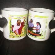 Mug Foto Digital (Mug Gagang Love Cekung) (14192843) di Kota Tangerang