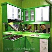 Kitchen Set Warna Hijau Di Semarang